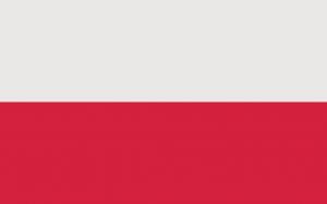 Obowiązująca flaga Rzeczypospolitej Polskiej. Źródło: Wikipedia, domena publiczna.